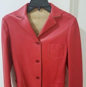Jil Sander leather jacket